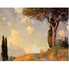Landscape Study at San Vigilio Lake of Garda