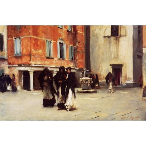 Leaving Church Campo San Canciano Venice