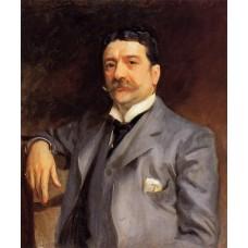 Portrait of Louis Alexander Fagan