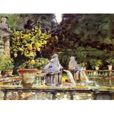 Villa di Marlia A Fountain