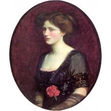 Portrait of Mrs Charles Schreiber
