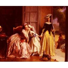 La Reine Marie Antoinette Et Sa Fille Madame Royale A Vers