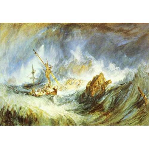 A storm shipwreck