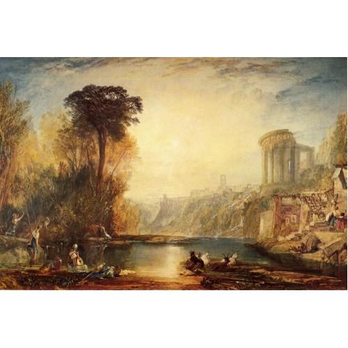 Landscape composition of tivoli