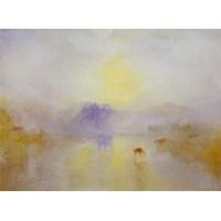 Norham Castle Sunrise