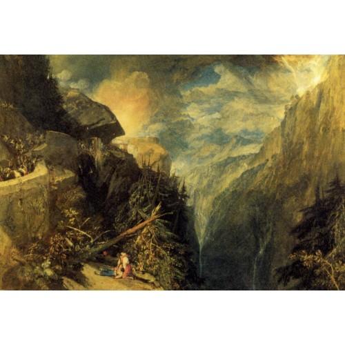 The battle of fort rock val d aoste piedmont