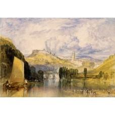 Totnes in the river dart