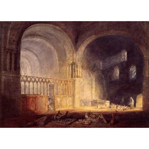 Transept of ewenny priory glamorganshire