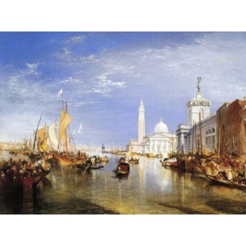 Venice the dogana and san giorgio maggiore