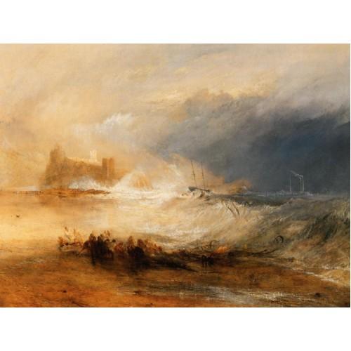 Wreckers coast of northumberland