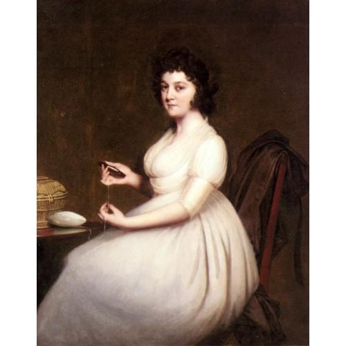 Portrait of Mrs Abney