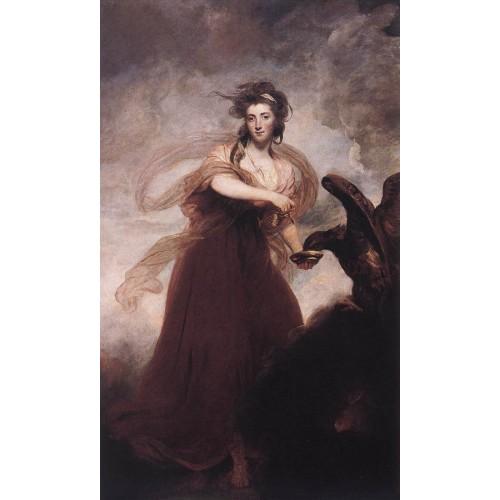Mrs Musters as Hebe