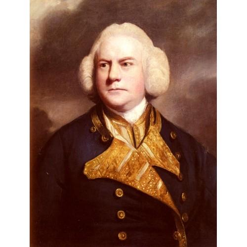 Portrait Of Admiral Thomas Cotes