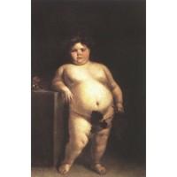 La Monstrua Desnuda (Eugenia Martinez Vallejo Unclothed)