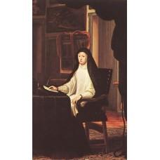 Queen Mary Anne of Austria as a Widow