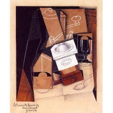 The coffee grinder 1916