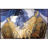 The three masks 1923