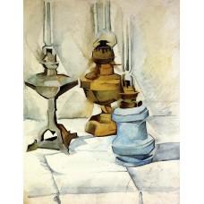 Three lamps 1911