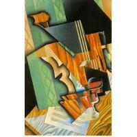 Violin and glass 1915