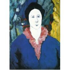 Blue portrait 1930