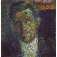 Portrait of ivan kliun 1933