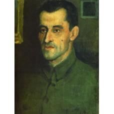 Portrait of v a pavlov 1933