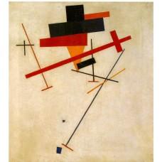 Suprematist painting 1916