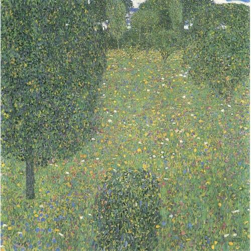 Landscape garden meadow in flower
