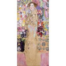 Portrait of maria munk unfinished