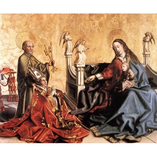 Presentation of Cardinal de Mies to the Virgin
