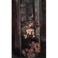 A parisian balcony 1908