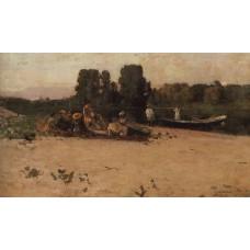 A picnic 1880
