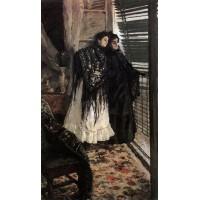 At the balcony spanish women leonora and ampara 1889