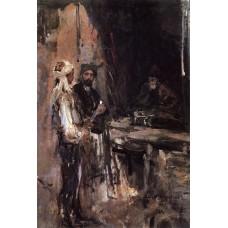 Buying a dagger 1889