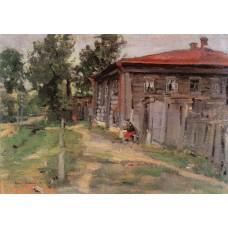 Corner of the province street in pereslavl 1905