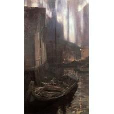 Hammerfest the nothern lights 1895