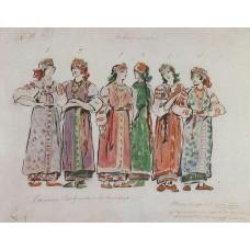 Hay girls 1911