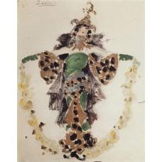 Khan s wife costume design for c pugni s ballet 1901