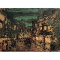 Night street paris 1902