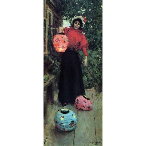 Paper lanterns 1898