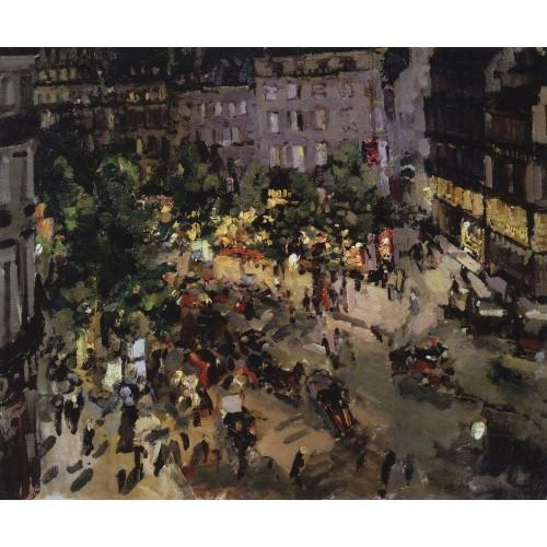 Paris boulevard des capucines 1911