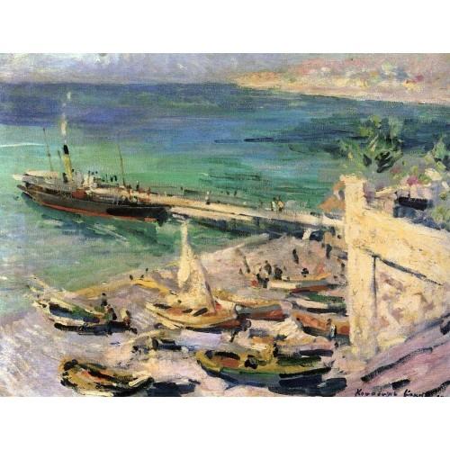 Pier in the crimea 1913