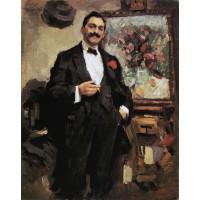 Portrait of a hungarian artist jozsef ripley ronai 1912