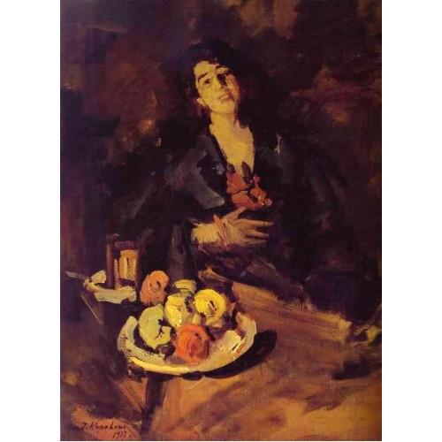 Portrait of a woman 1917