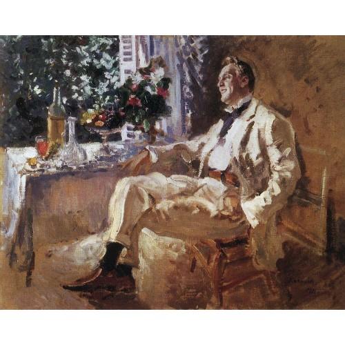 Portrait of chaliapin 1911