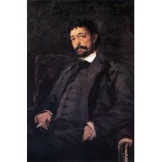 Portrait of italian singer angelo masini 1890