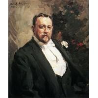 Portrait of ivan morosov 1903