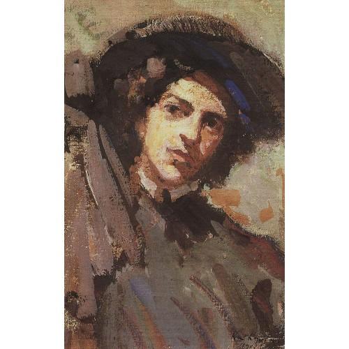 Portrait of nadezhda komarovskaya 1908