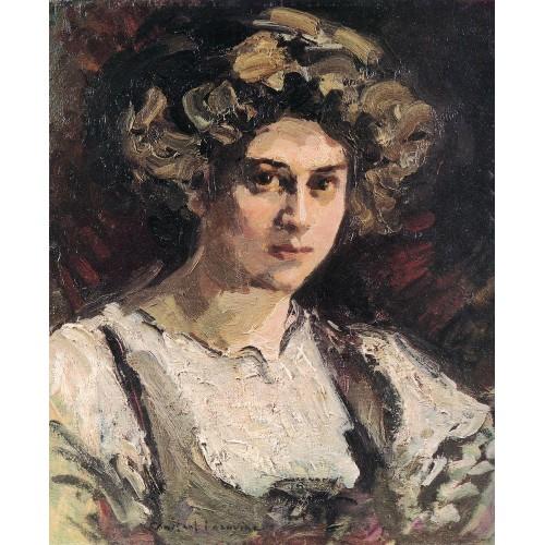 Portrait of nadezhda komarovskaya 1910