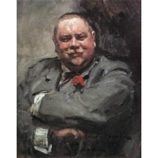 Portrait of nikolay chichagov 1902